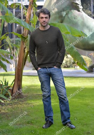 Stock Picture of Italian Actor Luca Argentero Poses During the Photocall of Television Movie 'Ragion Di Stato' Directed by Marco Pontecorvo (not Pictured) in Rome Italy 09 January 2015 Italy Rome