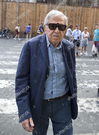 Italian Director Paolo Taviani Arrives For the Funeral Ceremony of Italian Screenwriter Vincenzo Cerami in Rome Italy 19 July 2013 Cerami who Studied with Pier Paolo Pasolini Died in Rome on 17 July 2013 He was 72 Italy Rome