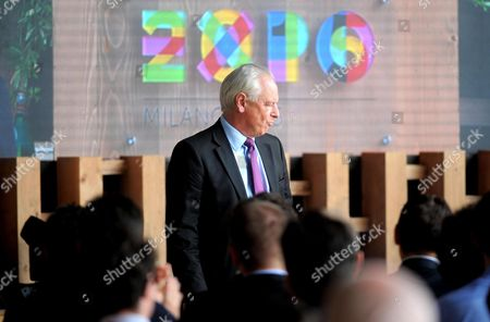 Great Britain's Minister of State For Trade and Investment Lord Francis Maude Attends Uk National Day at Milan Expo 2015 in Milan Italy 17 June 2015 the Exhibition Runs From 01 May to 31 October This Will Be the Second Time Milan Hosts the Expo the First Milan International Exposition Took Place in 1906 the Event's 2015 Theme is 'Feeding the Planet Energy For Life' Italy Milan