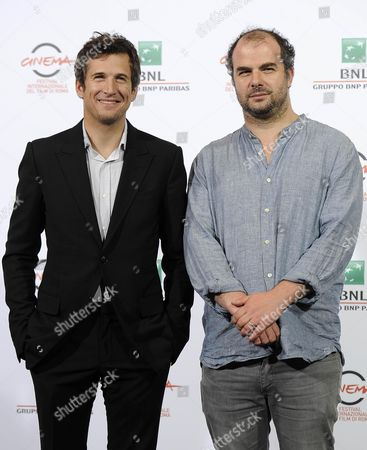French Actor Guillaume Canet (l) and French Director Cedric Anger Pose During the Photocall For the Movie 'La Prochaine Fois Je Viserai Le Coeur' at the 9th Annual Rome Film Festival in Rome Italy 20 October 2014 the Festival Runs From 16 to 25 October Italy Rome