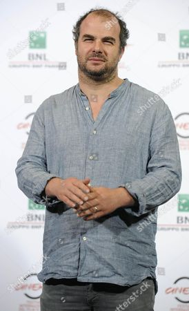 French Director Cedric Anger Poses During the Photocall For the Movie 'La Prochaine Fois Je Viserai Le Coeur' at the 9th Annual Rome Film Festival in Rome Italy 20 October 2014 the Festival Runs From 16 to 25 October Italy Rome