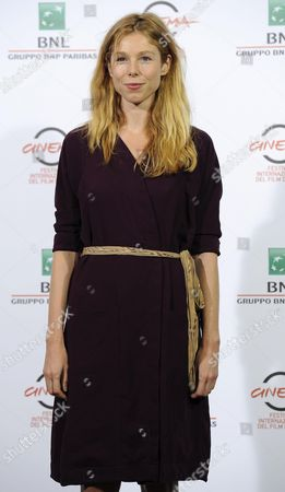 Stock Picture of Italian Actress Lola Peploe Poses During the Photocall For the Movie 'Obra' at the 9th Annual Rome Film Festival in Rome Italy 20 October 2014 the Festival Runs From 16 to 25 October Italy Rome