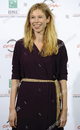 Italian Actress Lola Peploe Poses During the Photocall For the Movie 'Obra' at the 9th Annual Rome Film Festival in Rome Italy 20 October 2014 the Festival Runs From 16 to 25 October Italy Rome