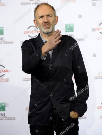 Stock Picture of Dutch Director Anton Corbjin Poses During the Photocall For the Movie 'A Most Wanted Man' at the 9th Annual Rome Film Festival in Rome Italy 25 October 2014 the Festival Runs From 16 to 25 October Italy Rome