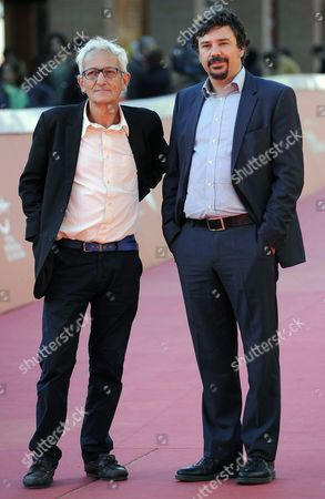 Portuguese Director Joao Botelho and Producer Alexandre Oliveira (r) Arrive on the Red Carpet For the Premiere of the Movie 'Os Maias (alguns) Episodios Da Vida Romantica' (the Maias Story of a Portuguese Family) at the 9th Annual Rome Film Festival in Rome Italy 23 October 2014 the Festival Runs From 16 to 25 October Italy Rome