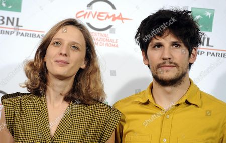 French Director Mia Hansen-love (l) and French Actor Felix De Givry Pose During the Photocall For 'Eden' at the 9th Annual Rome Film Festival in Rome Italy 17 October 2014 the Festival Runs From 16 to 25 October Italy Rome