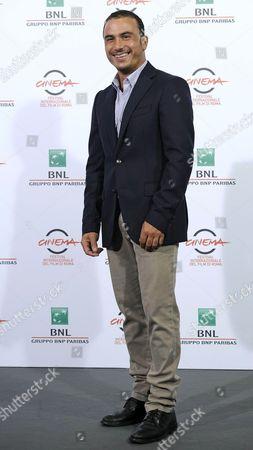 Italian Actor Francesco Di Leva Poses During the Photocall For the Movie 'I Milionari' at the 9th Annual Rome Film Festival in Rome Italy 19 October 2014 the Festival Runs From 16 to 25 October Italy Rome