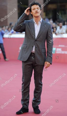 Italian Actor Andrea Bosca Arrives For the Premiere of 'A Tutto Tondo' at the 9th Annual Rome Film Festival in Rome Italy 18 October 2014 the Festival Runs From 16 to 25 October Italy Rome