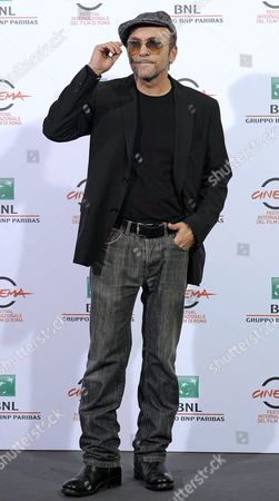 Italian Actor Gianfranco Gallo Poses During the Photocall For the Movie 'I Milionari' at the 9th Annual Rome Film Festival in Rome Italy 19 October 2014 the Festival Runs From 16 to 25 October Italy Rome