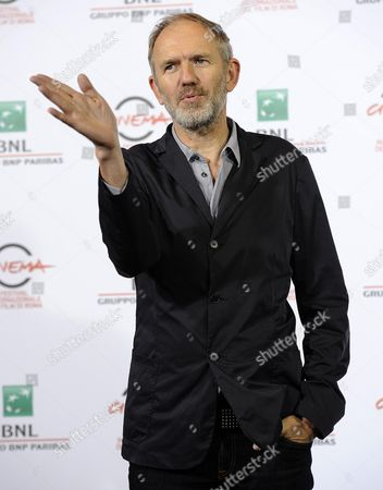 Stock Photo of Dutch Director Anton Corbjin Poses During the Photocall For the Movie 'A Most Wanted Man' at the 9th Annual Rome Film Festival in Rome Italy 25 October 2014 the Festival Runs From 16 to 25 October Italy Rome