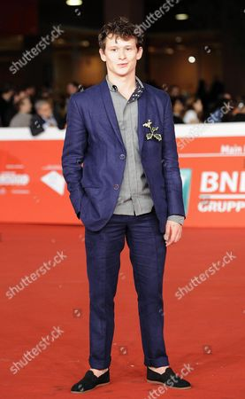 Swiss Actor Joel Basman Arrives For the Premiere of 'Wir Sind Jung Wir Sind Stark (lit : We Are Young We Are Strong)' at the 9th Annual Rome Film Festival in Rome Italy 16 October 2014 the Festival Runs From 16 to 25 October Italy Rome