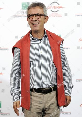 Stock Picture of Italian Actor Gianfelice Imparato Poses During the Photocall For the Movie 'Buoni a Nulla' at the 9th Annual Rome Film Festival in Rome Italy 18 October 2014 the Festival Runs From 16 to 25 October Italy Rome