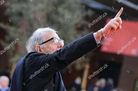 Italian Actor Enrico Lucherini Arrives on the Red Carpet For the Premiere of the Movie 'Ne Ho Fatte Di Tutti i Colori' at the 9th Annual Rome Film Festival in Rome Italy 23 October 2014 the Festival Runs From 16 to 25 October Italy Rome