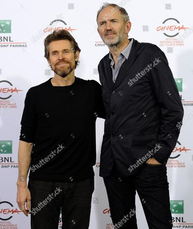 Stock Photo of Dutch Director Anton Corbjin (r) and Us Actor Willem Dafoe Pose During the Photocall For the Movie 'A Most Wanted Man' at the 9th Annual Rome Film Festival in Rome Italy 25 October 2014 the Festival Runs From 16 to 25 October Italy Rome