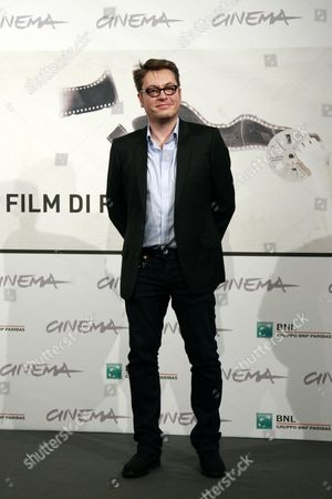 French Director Regis Roinsard Poses During a Photocall For the Movie 'Populaire' at the 7th Annual Rome Film Festival in Rome Italy 11 November 2012 the Movie is Presented out of Competition at the Festival That Runs From 09 to 17 November Italy Rome