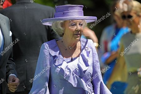 Dutch Queen Beatrix Arrives For the Wedding of Her Niece Princess Carolina of Bourbon-parma the Youngest Daughter of Beatrixs Sister Princess Irene in Florence Italy 16 June 2012 the Wedding Ceremony Will Take Place in the Church of San Miniato Al Monte Italy Florence