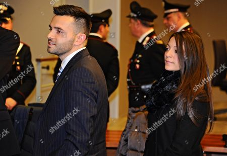 Lyle (l) and Stephanie Kercher (r) Relatives of Meredith Kercher Leaves the Court After the Judgment of the Court of Appeals For the Verdict of the Amanda Knox and Raffaele Sollecito Retrial in Florence Italy 30 Januery 2014 an Italian Court in Florence on 30 January 2014 Convicts Us Student Amanda Knox of the 2007 Murder of Briton Meredith Kercher Overturning an Appeal Made in 2011 She Receives a 28-year Prison Sentence Her Former Boyfriend Italian Raffaele Sollecito Receives a 25-year Prison Sentence Italy Florence