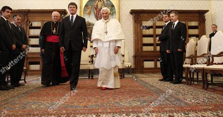 Editorial image of Vatican Albania Pope Topi - May 2012