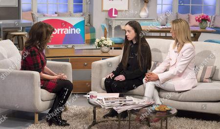 Lorraine Kelly with Isabella Julie Neville