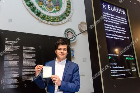 Editorial image of 'Collecting Europe' photocall at the V&A, London, UK - 31 Jan 2017