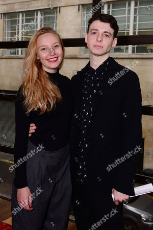 Stock Photo of Anthony Boyle and Kristy Philipps