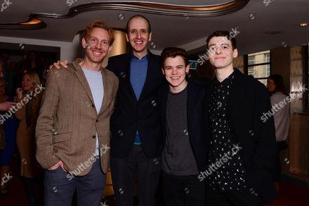 Paul Thornley, Jack Thorne, Sam Clemmett and Anthony Boyle