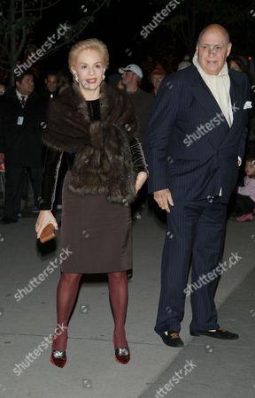 Carolina Herrera and Reinaldo Herrera Guevara