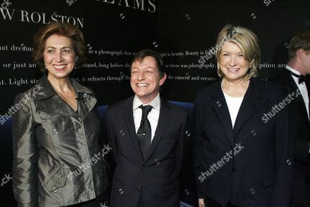 Dominique Heriard Dubreuil, Matthew Rolston & Martha Stewart