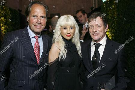 Hendrik teNeues, Christina Aguilera & Matthew Rolston
