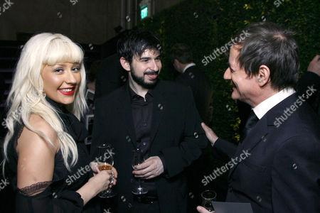 Christina Aguilera, Jordan Bratman & Matthew Rolston