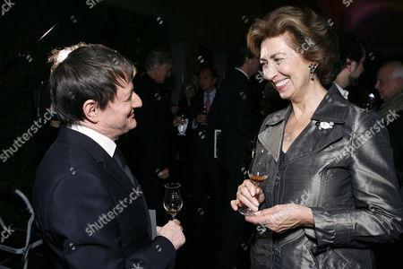 Photographer Matthew Rolston & Dominique Heriard Dubreuil