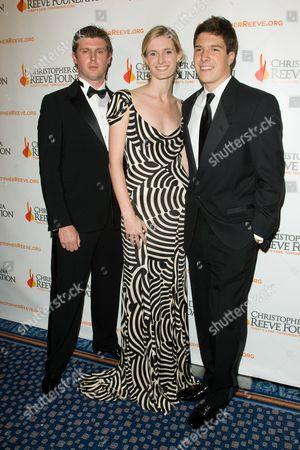 Matthew Reeve, Alexandra Reeve Givens, Will Reeve