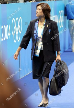 One of the Judges Leaves the Venue After the Men's Horizontal Bar Final at the Athens 2004 Olympic Games Monday 23 August 2004 the Men's Horizontal Bars was Engulfed in Controversy After the Crowd Voiced Their Disgust at the Score Given to Russian Alexei Nemov who Received 9 725 Points But in an Unprecedented Scene the Crowd Jeered and Booed Incessantly For Ten Minutes Until His Score was Raised to 9 762 Points Nemov Eventually Calmed the Crowd So That Paul Hamm of the United States Could Attempt His Routine Hamm the Newly Crowned All-round Olympic Champion Kept His Composure to Earn the Silver Medal Behind Igor Cassina of Italy Both on 9 812 Points Isao Yoneda of Japan Took Bronze with 9 787 While Nemov Finished Fifth Epa/dpa Gero Breloer Epa/dpa Gero Breloer Greece Athens
