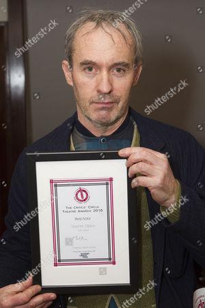 Editorial picture of 'The Critics' Circle Theatre Awards 2016' awards, , London, UK - 31 Jan 2017