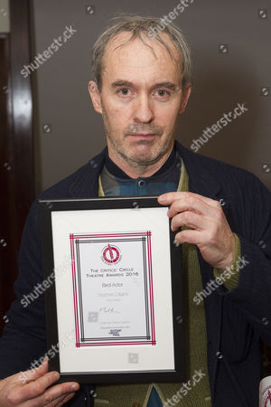 Stock Image of Stephen Dillane accepts the award for Best Actor