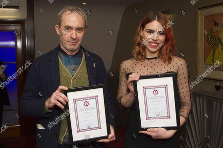 Editorial image of 'The Critics' Circle Theatre Awards 2016' awards, , London, UK - 31 Jan 2017