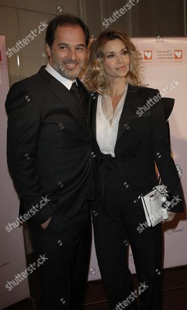 Ingrid Chauvin and her husband Thierry Peythieu