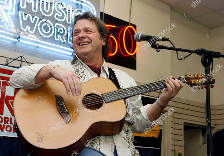 John Wetton performs with the band Asia at a music store in New York. Singer and bassist John Wetton of the rock group Asia has died. He was 67. A statement from his publicist, Glass Onyon PR, says Wetton died Tuesday, Jan. 31, 2017 from colon cancer