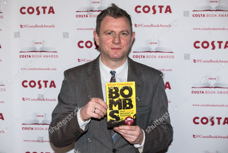 Brian Conaghan, Winner of the Costa Children's Book Award for 'The Bombs That Brought Us Together'