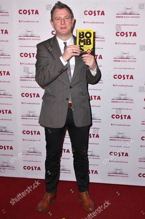 Brian Conaghan, Winner of the Costa First Novel Award for 'The Bombs That Brought Us Together'