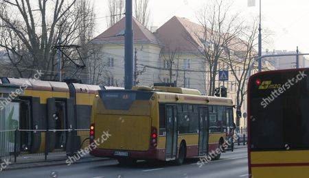 Public transport in Warsaw, Poland, 31 January 2017. Mayor of Warsaw, Hanna Gronkiewicz-Waltz announced on 31 January, that over 150 thousand primary and secondary students in Warsaw, can ride public transportation for free from 01 September 2017. The main aim of the project is to reduce the number of cars on the streets and accustom students to using public transport.