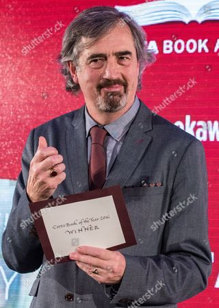 Sebastian Barry, winner of the Costa Book of the Year Award