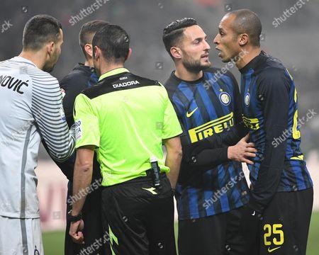 Editorial photo of Inter-Lazio, Milan, Italy - 31 Jan 2017
