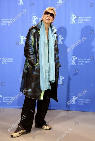 German Director Doris Doerrie Poses During a Photo Call For Her Film 'Kirschblueten - Hanami' by German Director Doris Dorrie at the 58th Berlin International Film Festival in Berlin 11 February 2008 the Film Runs in the Regular Competition For the 'Golden Bear' and 'Silver Bear' Awards at the 58th Berlin Film Festival Germany Berlin