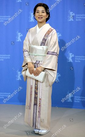 Japanese Actress Sayuri Yoshinaga Pictured During the Photo Call For Their Film 'Kabei - Our Mother' at the 58th Berlin International Film Festival in Berlin Germany 13 February 2008 the Film Runs in the Competition For the Golden Bear Awards at the 58th Berlin Film Festival Germany Berlin