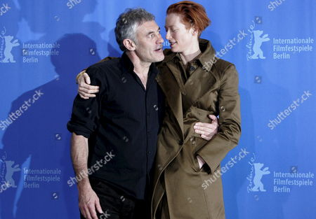 British Actress Tilda Swinton (r) and French Director Erick Zonca (l) Pose During a Photo Call on Their Film 'Julia' at the 58th Berlin International Film Festival in Berlin Germany 09 February 2008 the Film is Running in Competition For the Silver and Golden Bears at the 58th Berlinale Germany Berlin