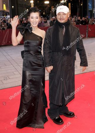 Chinese Actress Nan Yu and Filmmaker Quan-an Wang Arrive For the Presentation of Their Film 'Tuyas Marriage' at the 57th Berlinale Film Festival in Berlin Germany Saturday 10 February 2007 Germany Berlin