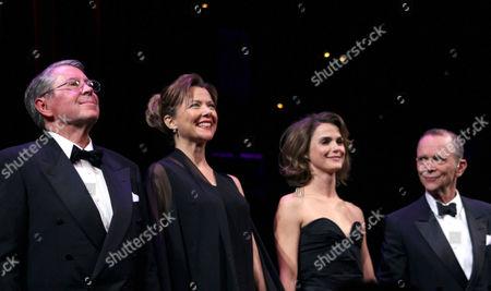 Brian Bedford, Annette Bening, Keri Russell and Joel Grey