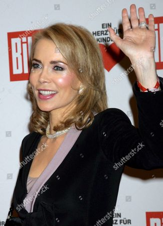 German Princess Gabriele Inaara Aga Khan Arrives at the Heart For Children ('ein Herz Fuer Kinder') Fundraising Gala in Berlin Germany 15 December 2007 the Gala is Organised by Germany Television Station Zdf and the German Newspaper 'Bild' to Collect Donations For Children in Need Germany Berlin