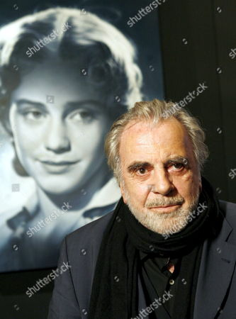 Maximilian Schell (r) Actor and Brother of Late Actress Maria Schell (l) Pictured with a Photo of His Sister at the Film Museum of Frankfurt Germany Tuesday 30 January 2007 the Museum Promotes the Work of Maria Schell who Died on 26 April 2005 in an Exhibition Running From 31 January to 17 June 2007 Germany Frankfurt Main